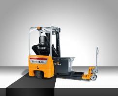 RX50 - med drivmotor direkte montert på styrehjulet