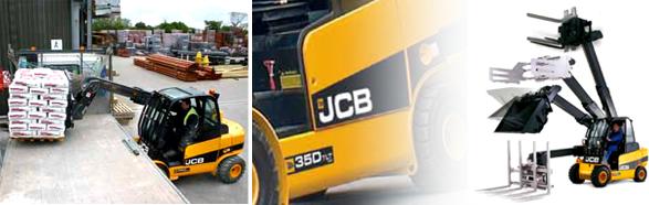 JCB teletruck