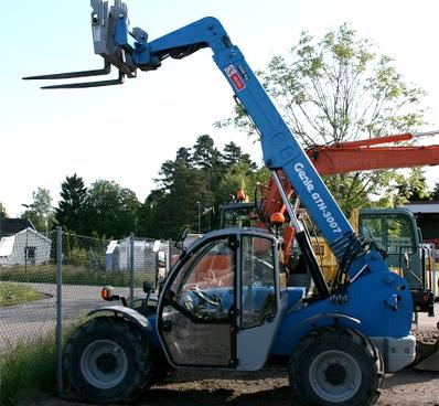 Andersen Truck kan utføre service og sakkyndig kontroll på teleskoptrucker.