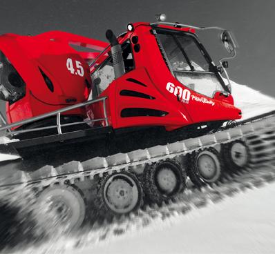 Les om Andersen Trucks servicetilbud på blant annet PistenBully