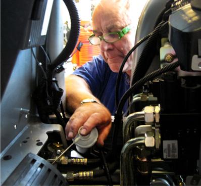 Andersen Truck utfører sakkyndig kontroll på trucker og maskiner
