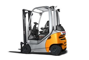 RX 70 - er med sin nye førerplass en sikker og komfortabel truck