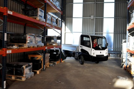 Goupil er elbiler som er kjente for å være miljøvennlige, energibesparende og robuste – i tråd med Andersen Trucks øvrige logistikkløsninger.