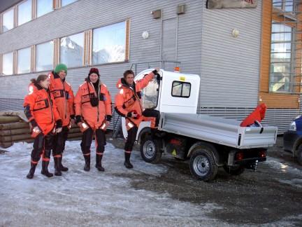 I Ny-Ålesund på Svalbard har et internasjonalt forskningsteam brukt Goupil over lengre tid.
