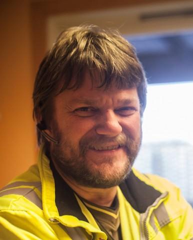 Jan Olav Hauan, teamleder på transportavdelingen