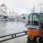 STILL-trucker tar imot skreien – og fiskemottakene vokser