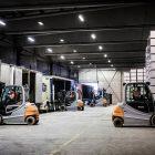 Norgips: Raskere vareflytting med STILL-trucker